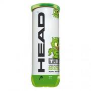 Bola de Tênis Head TIP Verde - 3 Bolas