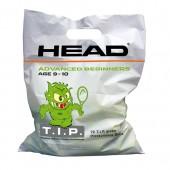 Saco de bolas Head TIP Green - 72Und