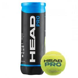 Bola de Tênis Head Pro - 3 Bolas