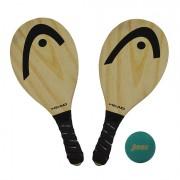 Raquete de Frescobol Head Pinus V Logo - Kit